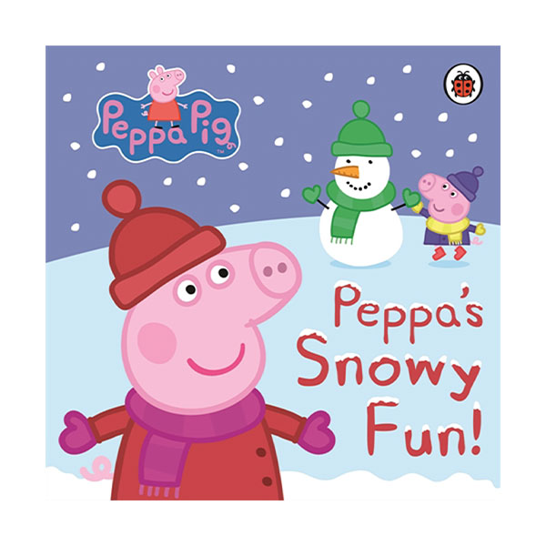 ★키즈코믹콘★Peppa Pig : Peppa's Snowy Fun (Board Book, 영국판)