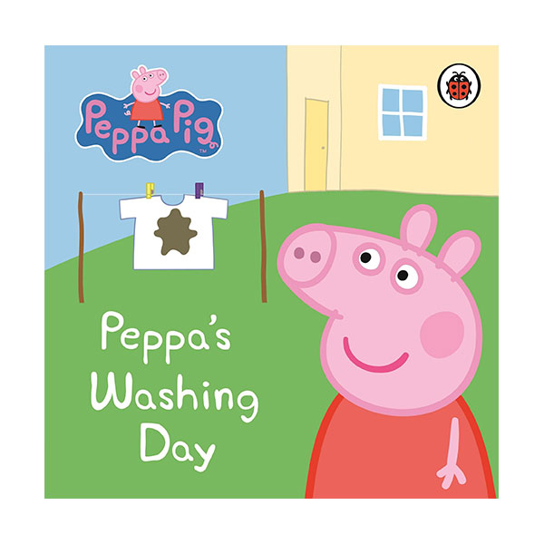 ★사은품증정★Peppa Pig : Peppa's Washing Day : My First Storybook (Board Book, 영국판)