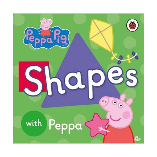 ★키즈코믹콘★Peppa Pig : Shapes (Board book)