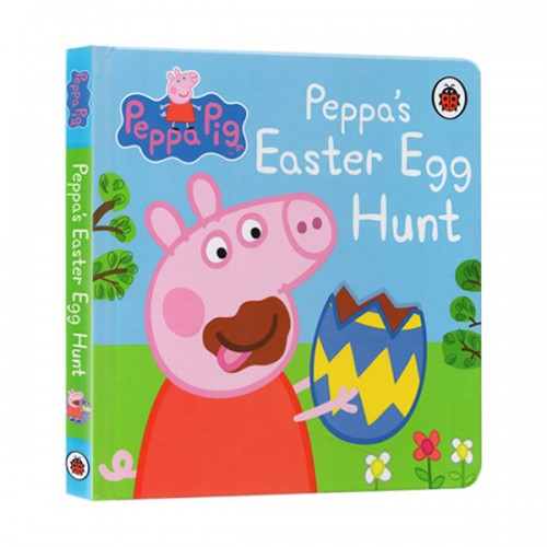 ★키즈코믹콘★Peppa Pig: Peppa's Easter Egg Hunt (Board Book, 영국판)