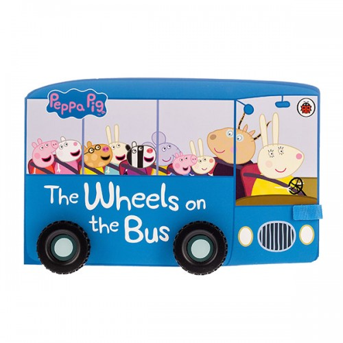 ★키즈코믹콘★Peppa Pig: The Wheels on the Bus (Board Book, 영국판)