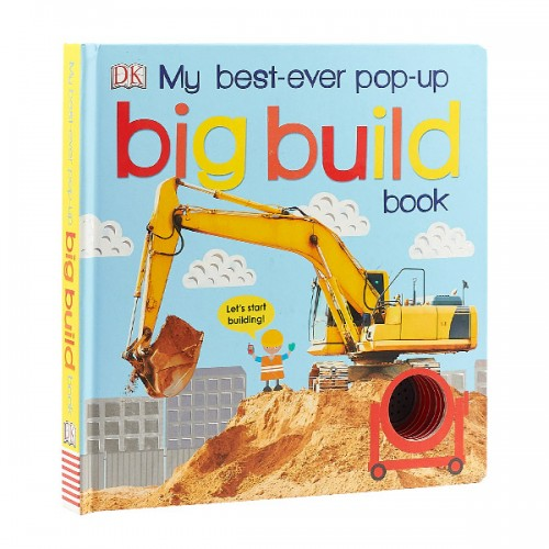 DK : My Best Ever Pop-Up Big Build Book (Board book)
