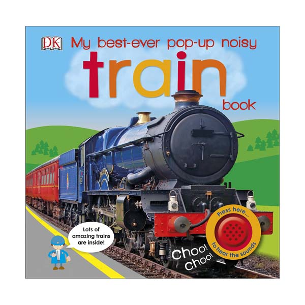 My Best-Ever Pop-Up Noisy Train Book (Board book, 영국판)