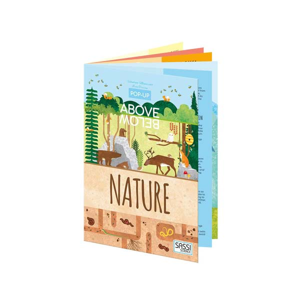 Pop-up Above Below : Nature (Pop-Up Book)