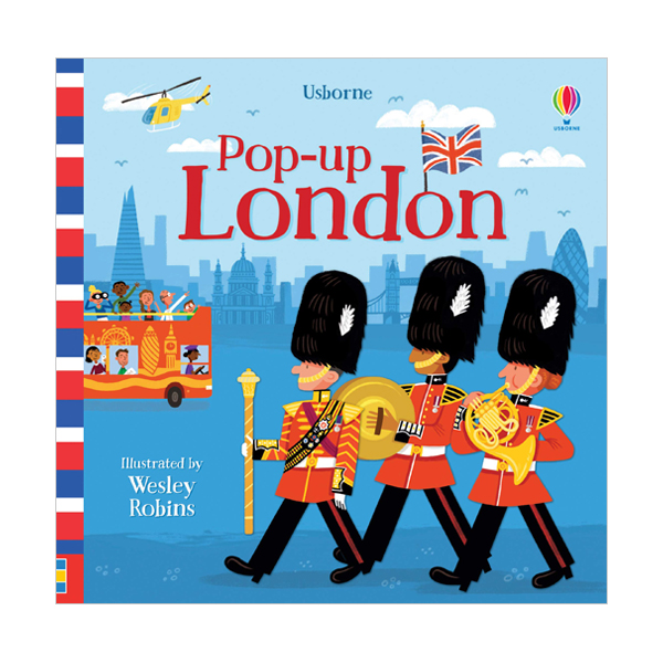 Pop-Up London (Board book, 영국판)