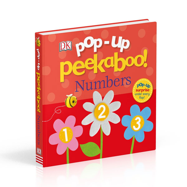 Pop-Up Peekaboo! Numbers (Board book, 영국판)