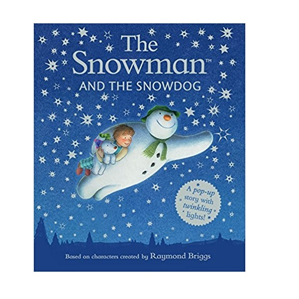 The Snowman and the Snow dog Pop-Up Picture Book (Hardcover)