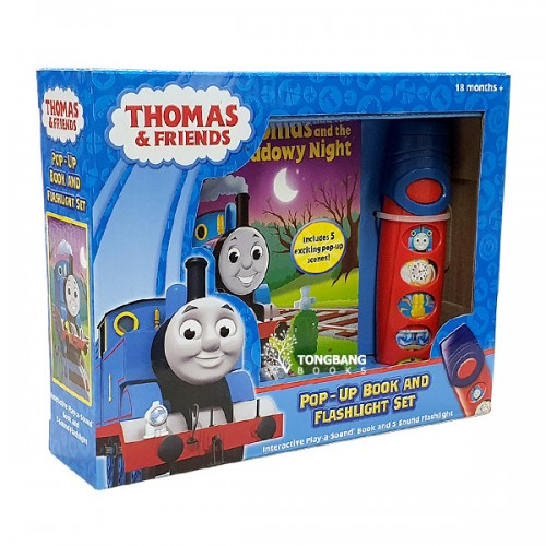 Thomas and Friends : Pop-Up Book and Flashlight Set (Sound Board Book)