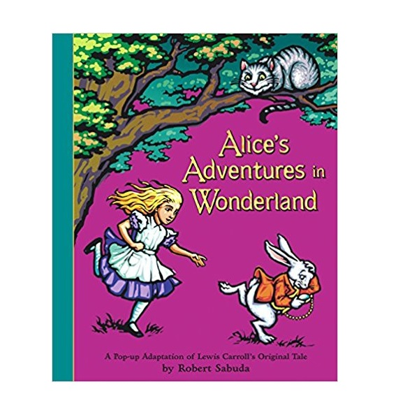 ★키즈코믹콘★[이상한 나라의 앨리스 팝업북] Alice's Adventures in Wonderland: A Pop-up Adaptation (Hardcover)