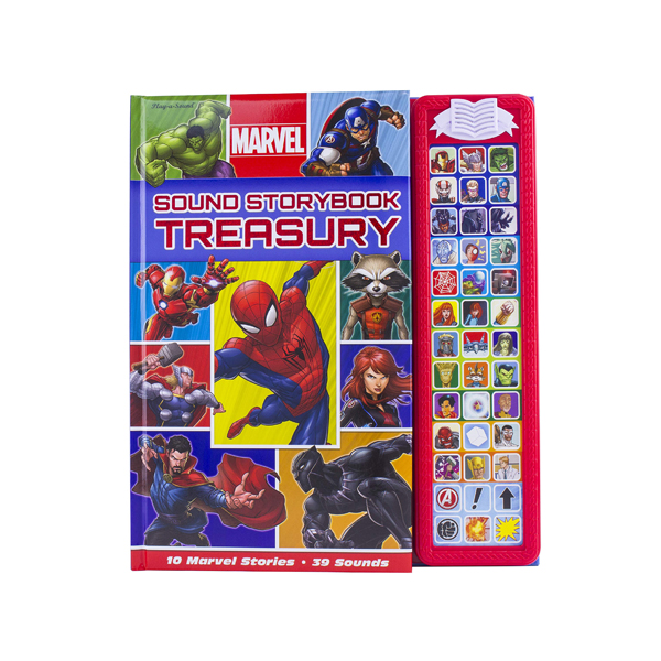 Marvel Superhero : Sound Storybook Treasury (Sound Board book)