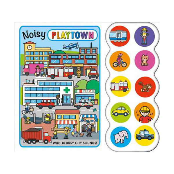 Noisy Playtown (Sound Board book)