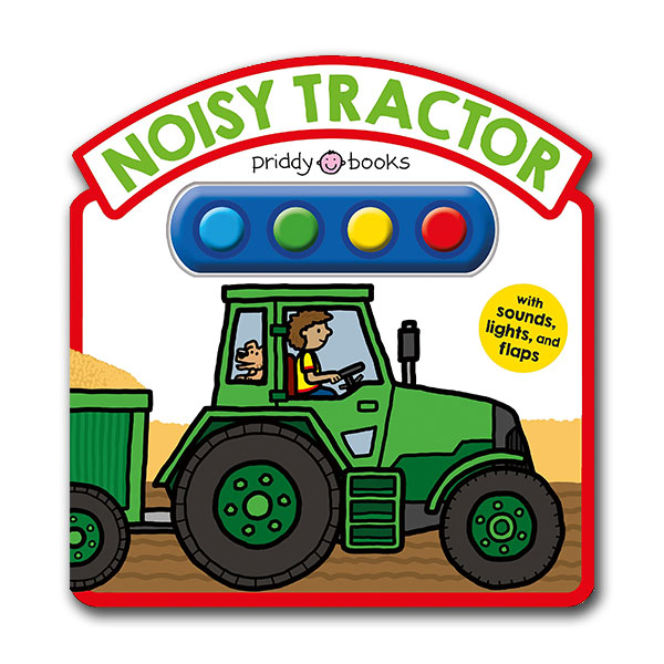 Simple Sounds : Noisy Tractor Sound Book (Board book, Sound Book)