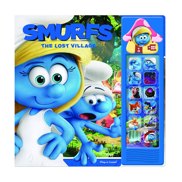 Smurfs 3 Mini Deluxe Custom Frame : The Lost Village (Sound book)