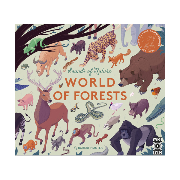 Sounds of Nature : World of Forests (Hardcover, Sound Book, 영국판)