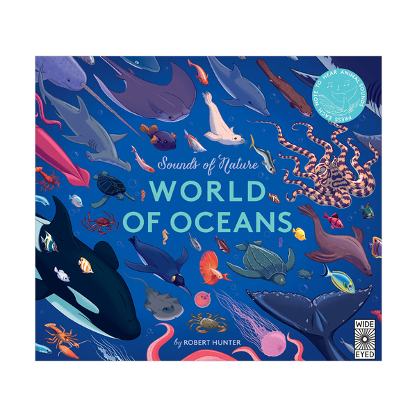 Sounds of Nature : World of Oceans (Hardcover, Sound Book, 영국판)