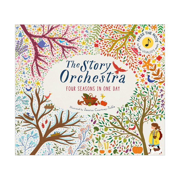 The Story Orchestra: Four Seasons in One Day (Hardcover, Sound Book)