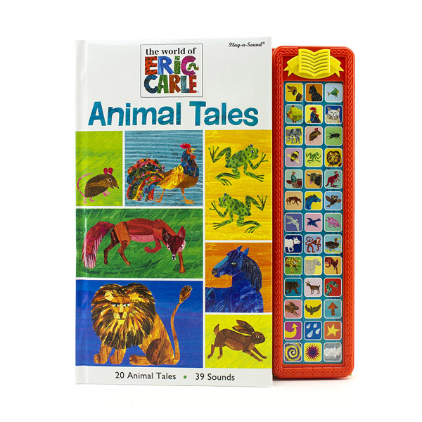 The World of Eric Carle : Animal Tales (Hardcover,Sound Book)