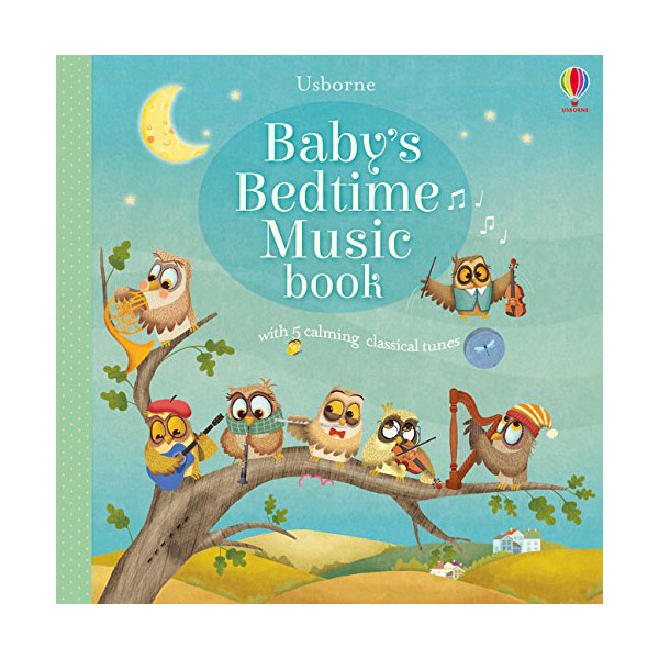 Usborne : Baby's Bedtime Music Book (Sound Board book, 영국판)