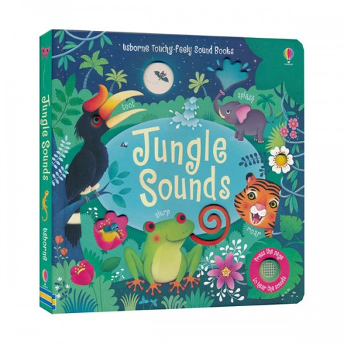 Usborne : Jungle Sounds (Board book, Sound Book, 영국판)