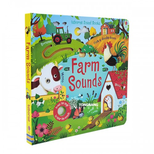 Usborne Noisy Books : Farm Sounds (Board book, Sound book, 영국판)