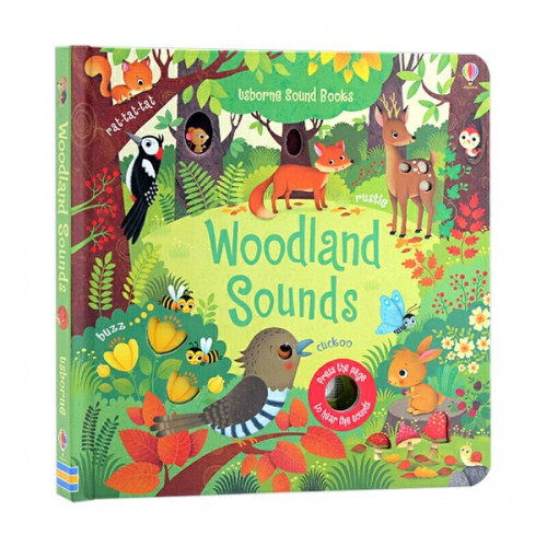 Usborne Noisy Books : Woodland Sounds (Board book, Sound Book, 영국판)