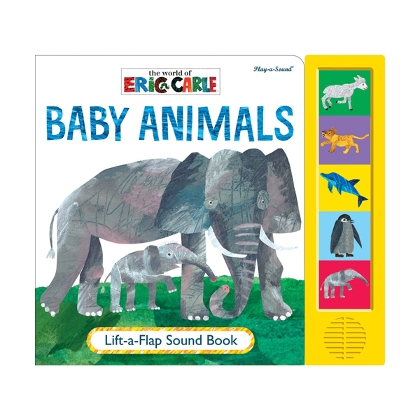 World of Eric Carle : Baby Animals Lift-a-Flap Sound Book (Board book, Sound Book)