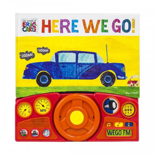 World Of Eric Carle : Here We Go! (Board book, Sound Book)