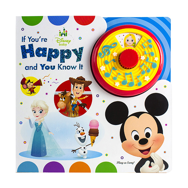 [Pi] Disney Baby If You're Happy and You Know It : Turn N Sing (Sound Board book)