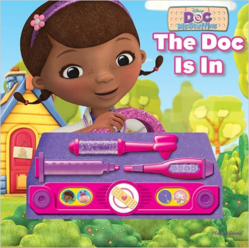 [PI] Doc Mcstuffins : The Doc Is In (Sound Board Book)