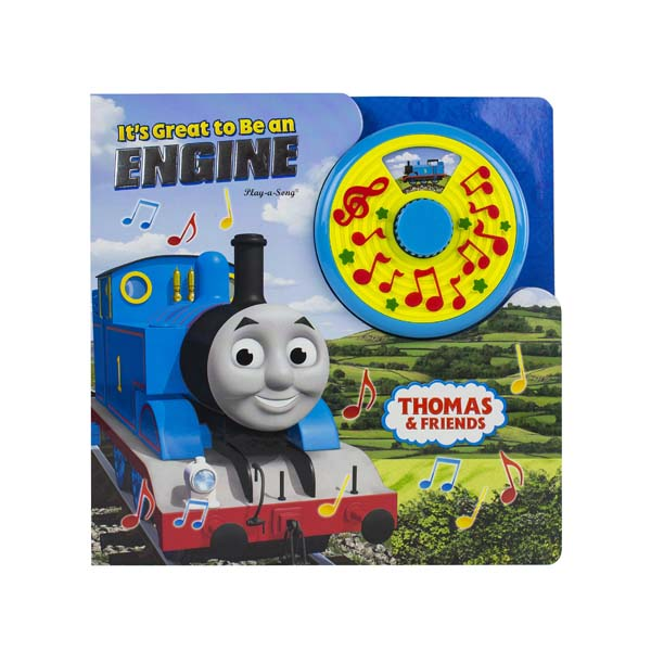 [Pi] Thomas & Friends It's Great to Be An Engine : Turn N Sing (Sound Board book)