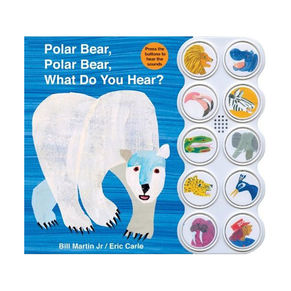 [베스트★] Polar Bear, Polar Bear What Do You Hear? (Sound Board Book)