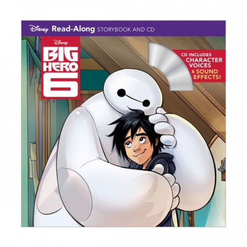 Big Hero 6 Read-Along Storybook and CD (Book and CD)