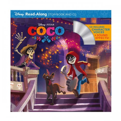Coco Read-Along Storybook and CD (Paperback+CD)