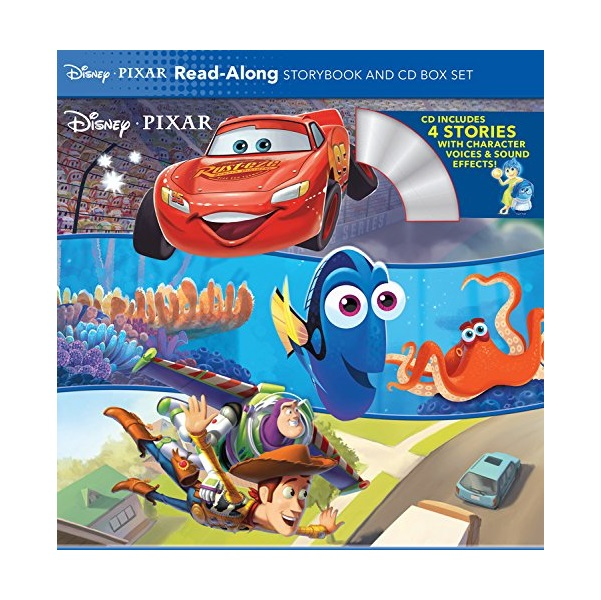 Disney and Pixar Read-Along Storybook and CD Box Set (Book and CD)