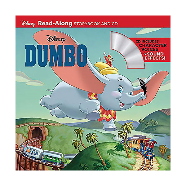 Disney Dumbo : Read-Along Storybook and CD (Paperback+CD)