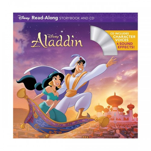 Disney Read-Along Storybook : Aladdin (Book & CD)