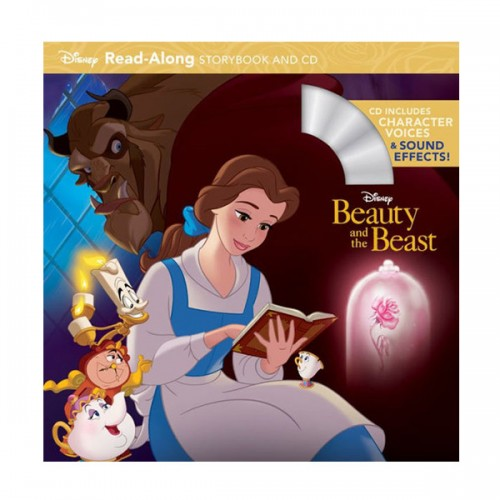 Disney Read-Along Storybook : Beauty and the Beast (Book & CD)