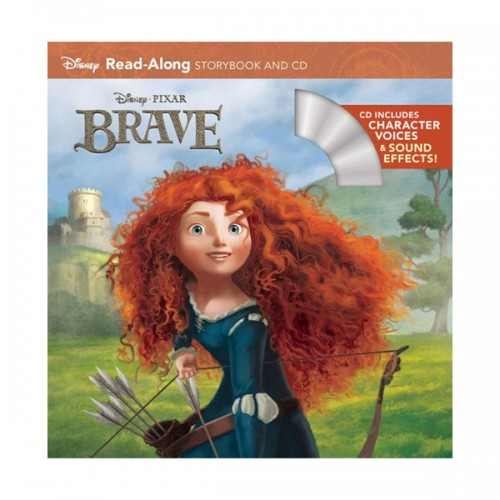 Disney Read-Along Storybook : Brave (Book & CD)