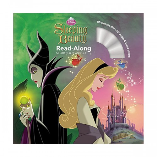 Disney Read-Along Storybook : Disney Princess Sleeping Beauty : 잠자는 숲 속의 공주 (Book & CD)