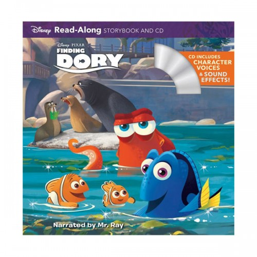 Disney Read-Along Storybook : Finding Dory : 도리를 찾아서 (Book & CD)