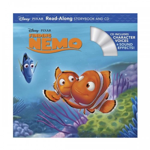 Disney Read-Along Storybook : Finding Nemo : 니모를 찾아서 (Book & CD)