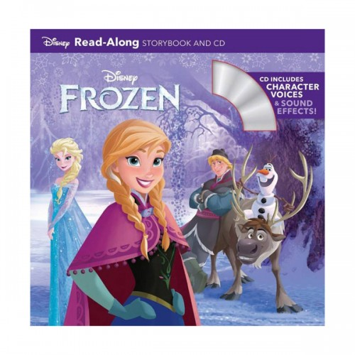 Disney Read-Along Storybook : Frozen(겨울왕국) (Book & CD)