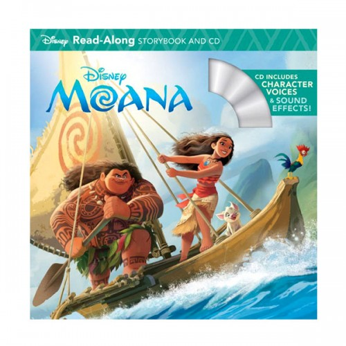 Disney Read-Along Storybook : Moana : 모아나 (Book & CD)