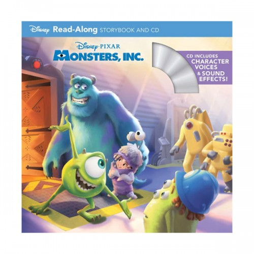 Disney Read-Along Storybook : Monsters, Inc. (Book & CD)