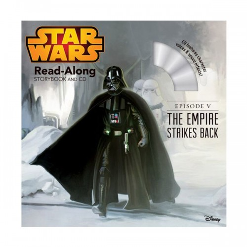 Disney Read-Along Storybook : Star Wars : The Empire Strikes Back : 스타워즈 제국의 역습 (Book & CD)