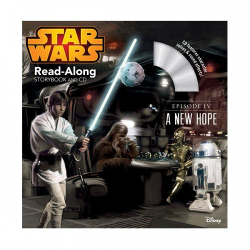 Disney Read-Along Storybook : Star Wars: A New Hope (Book & CD)