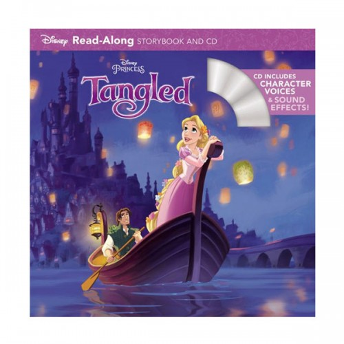 Disney Read-Along Storybook : Tangled (Book & CD)