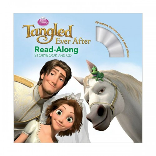 Disney Read-Along Storybook : Tangled Ever After (Book & CD)