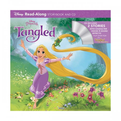 Disney Read-Along Storybook : Tangled Ever After : 라푼젤 끝나지 않은 이야기 (Book & CD)