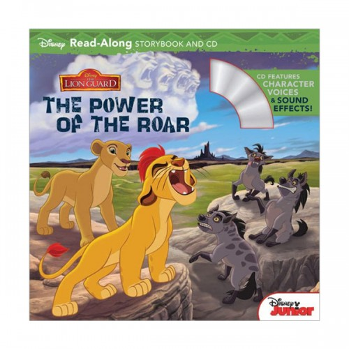 Disney Read-Along Storybook : The Lion Guard : The Power of the Roar : 라이온 수호대 (Book & CD)